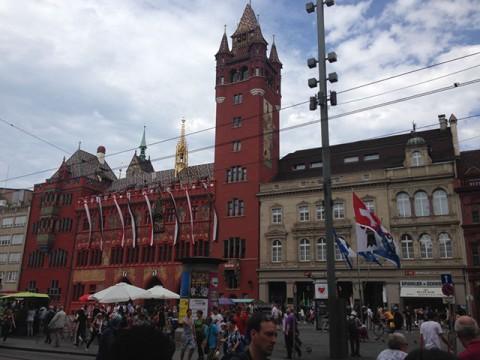 バーゼル市庁舎(Rathaus)