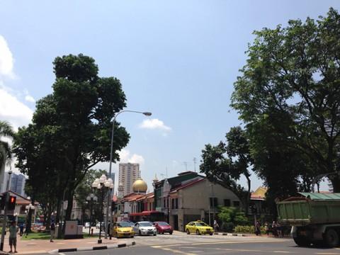 シンガポールは暑い!