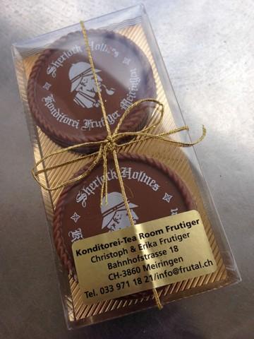 シャーロック・ホームズのチョコレート
